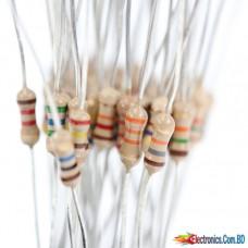 Resistor 1K ohm 1/4w (4pcs)