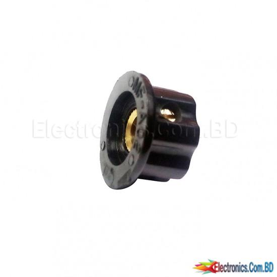 Realistic Amplifier Volume Control Metal Connector Knob 19/12mm