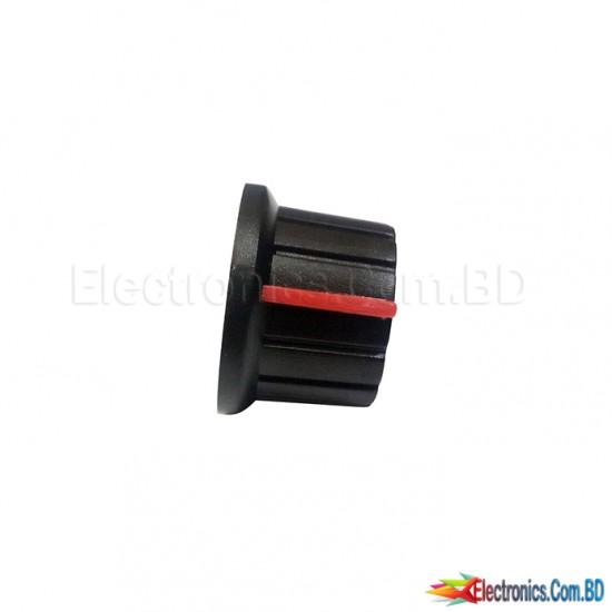 19.5*17*6mm amplifiers Audio Knob black Stereo Integrated Amplifier Volume Control Knob Aluminum Knobs
