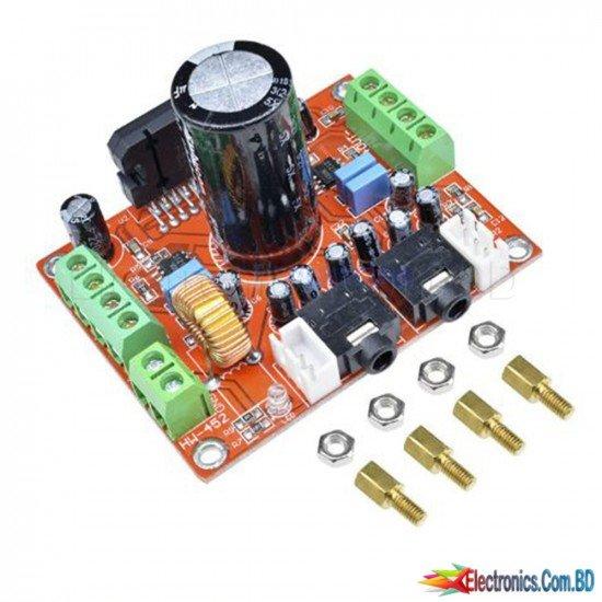 TDA7850 fever class power amplifier board 4 channel car power amplifier module DC 12V 4X50W with noise reduction BA3121