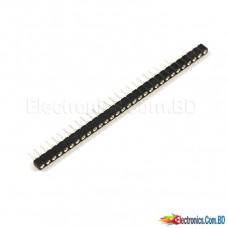 Break Away Female Headers - Swiss Machine Pin (40 Pin 2.54mm Snappable)