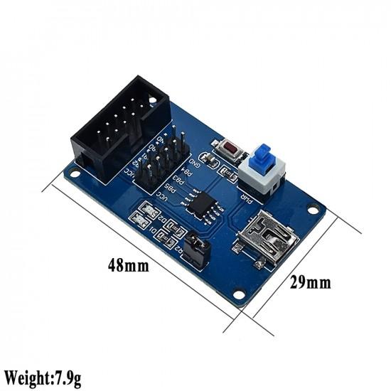 ATtiny13 Minimum System AVR USB ISP Development Board Core Board Module