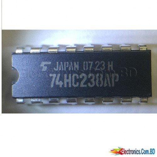 SXLS3-- TC74HC238AP DIP-16 Logic Electronic Component IC Chip 74HC238AP