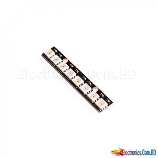 RGB LED Straight 8BIT WS2812 5050 RGB LED + INTEGRATED DRIVERS