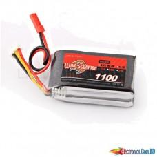 Lipo Battery 1100mAh 3S 25C Lipo Battery