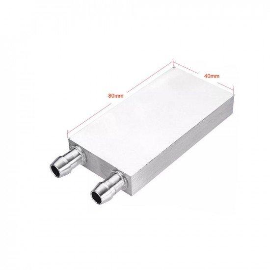 Aluminum Water Cooler Block 80x40x12mm