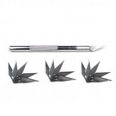 Knife Cutter Metal Handle Hobby