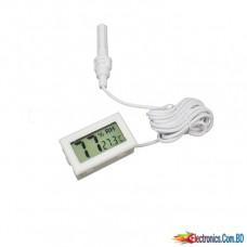 Digital Temperature Humidity Meter LCD Display