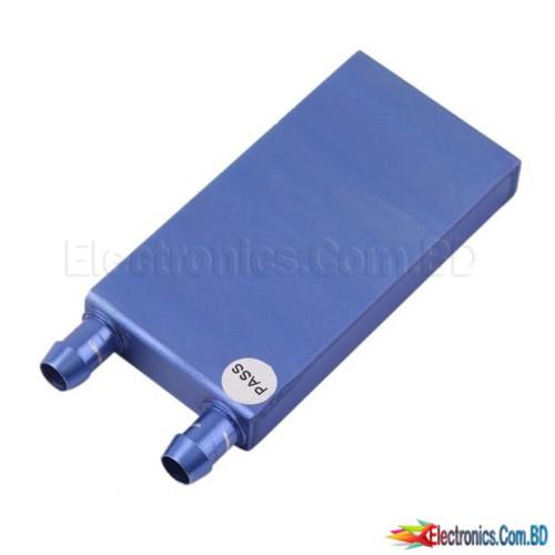 40 * 80 * 12mm Aluminum Water Cooling Waterblock Heatsink Block Coolant Liquid For CPU GPU Laser Head Industrial electrical panel