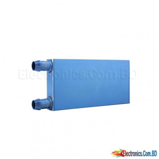 40 * 120 * 12mm Aluminum Water Cooling Water block Heatsink Block Coolant Liquid For CPU GPU Laser Head Industrial electrical pane