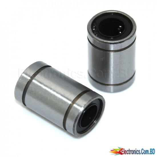 CNC Linear Motion Bearing 10mm Inner Diameter SC10UU Linear Motion Ball Bearing, Bushing for 3D Printer (1Pcs)