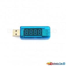 USB Power Meter Voltmeter Ammeter Tester