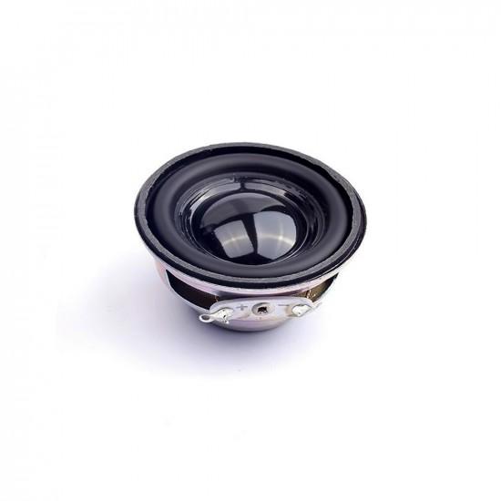 3W 4 Ohm Diameter 40mm Mini Amplifier Rubber Gasket Loudspeaker Trumpet Acoustic Speaker Diy Speakers (1 Pcs)