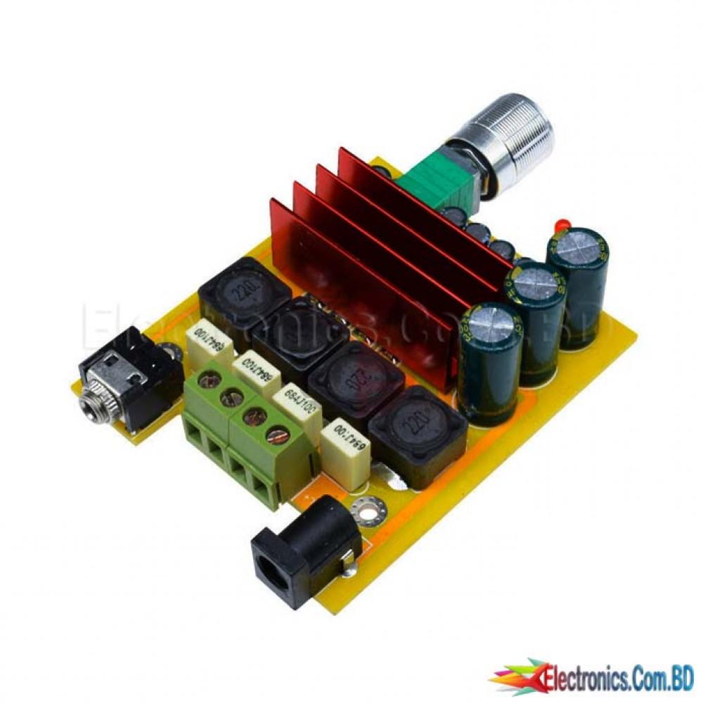 Amplifier Board TPA3116D2 100W NE5532 OPAMP 8-25V Subwoofer Audio Module