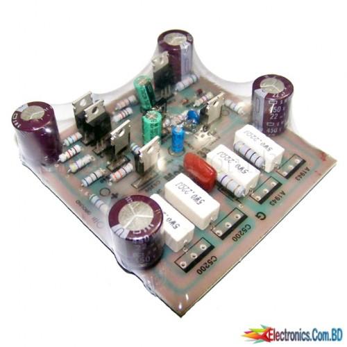 Amplifier Board 4 transistor (5200 / 1943) mono