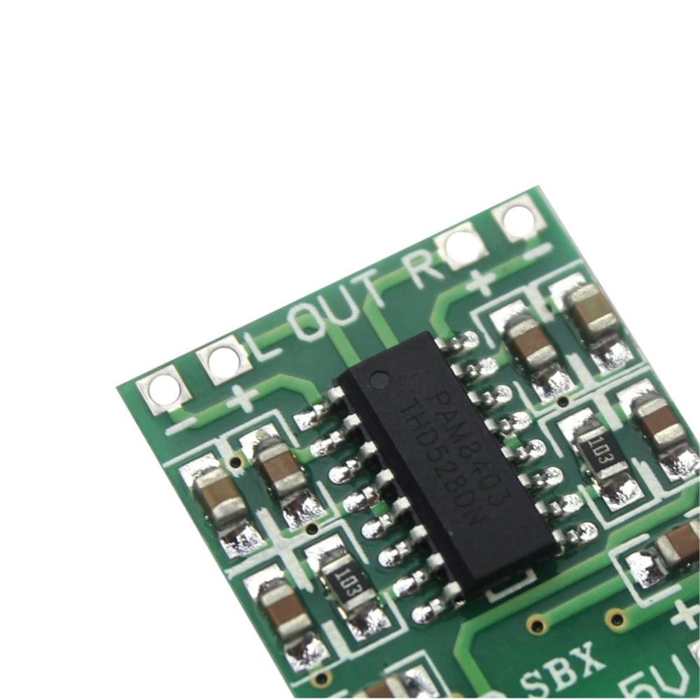 PAM8403 Super Mini Digital Amplifier Board 2 * 3W Class D