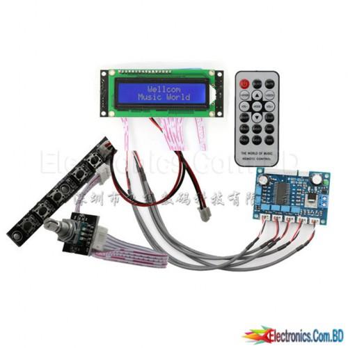 PT2313 Digital Tone Board Pre- Amplifier  (Full Set)