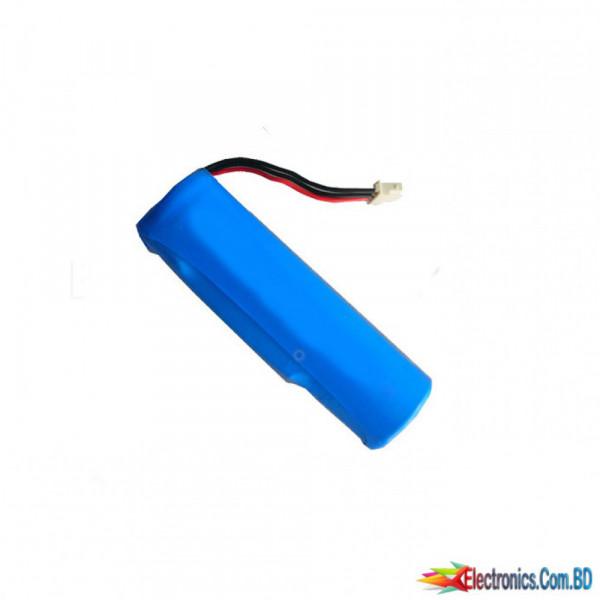 Battery Li-ion 18650 rechargeable 1000mAh  3.7V