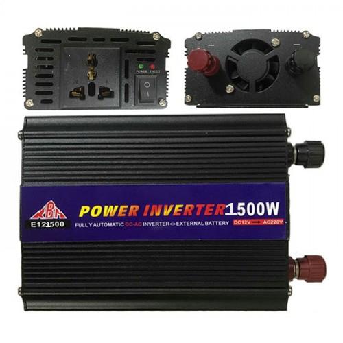 POWER INVERTER 1500W CONVERT 12V TO AC 220V