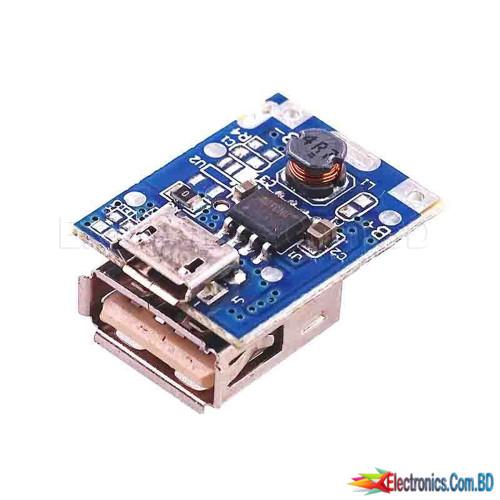 USB 5V 1A Mini Power Bank Circuit