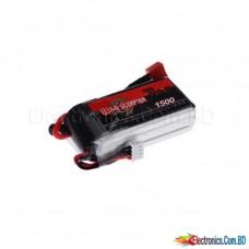Lipo Battery 1500mAh 3S 25C 11.1v