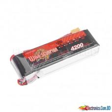 Lipo Battery 4200mAh 30C 11.1v