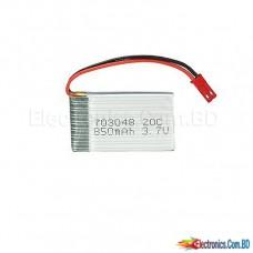 Lipo Battery 850mah 3.7v (1 cell)