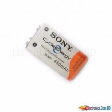 Sony 9V Rechargeable Battery 450mAh