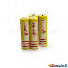Battery Li-Ion Rechargeable (Ultra Fire) HY 18650 5800mAh battery 3.7V (1 pice)(B Grade)