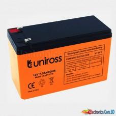 Uniross Lead Acid Battery 12V 7.5AH