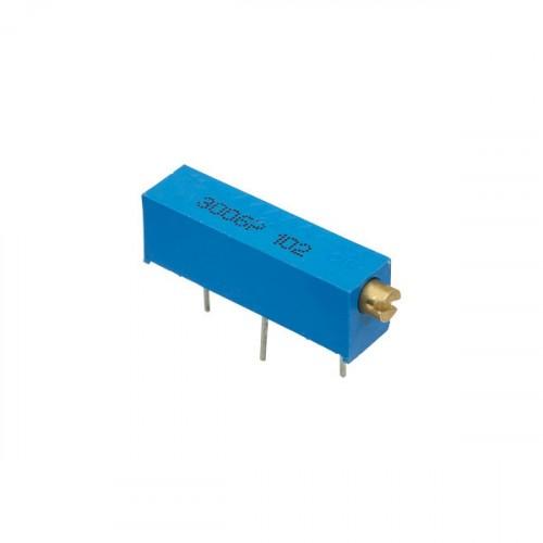 100k Ohm 104 Variable Resistor Trimpot Potentiometer Shape: Rectangle