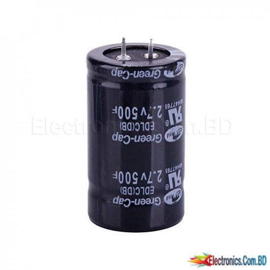 Super capacitor! 2.7v 500f 35 * 60mm ultra capacitors
