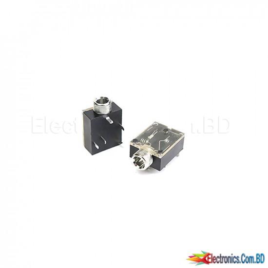 Horizontal 3.5mm  Audio Socket Stereo (1 Pcs)