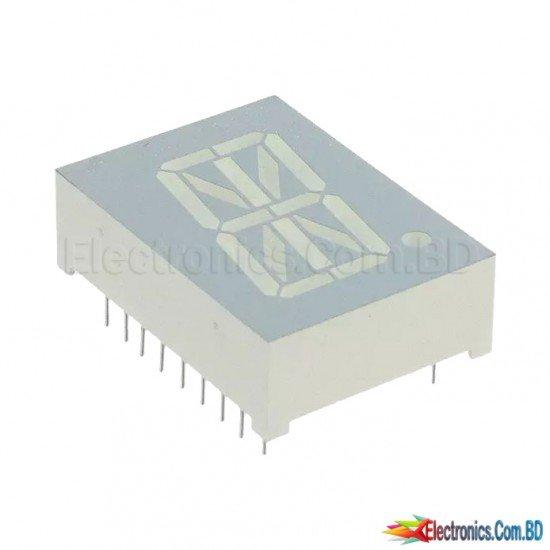 1-Digit 16-Segment Alphanumeric LED Display