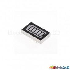 7 Segment Battery Display LED