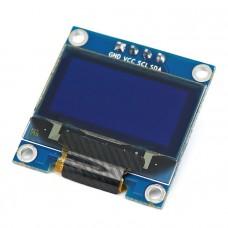 0.96 INCH IIC/I2C SERIAL 128×64 BLUE OLED DISPLAY MODULE FOR ARDUINO