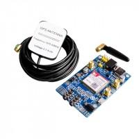 SIM808 Module GSM GPRS GPS Development Board IPX SMA with GPS Antenna