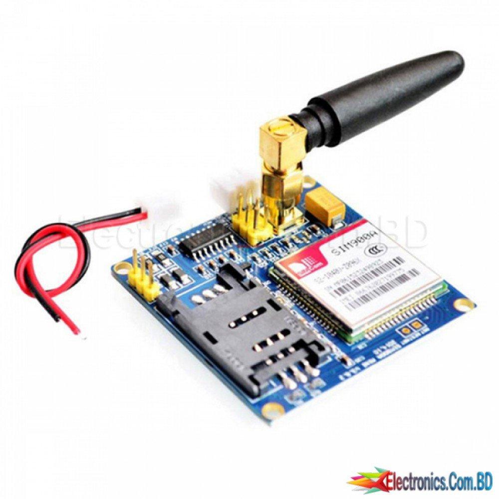 SIM900A GSM GPRS Board + Antenna for Arduino