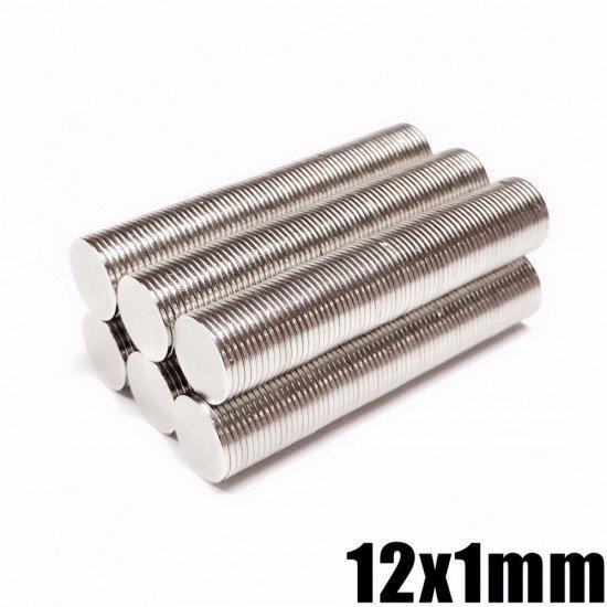 Neodymium Magnets Disc 12x1mm