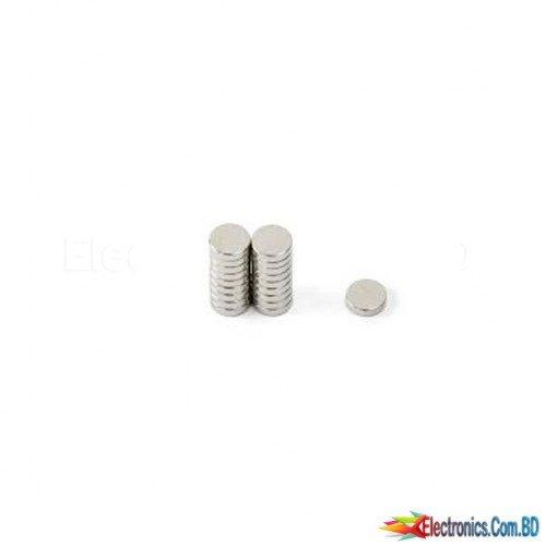 Neodymium Magnet Round Shape mini (2x2 mm)