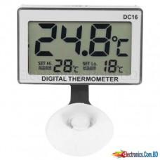 DC16 LCD Digital Aquarium Thermometer Waterproof Temperature Thermometer for Fish Tank Hot