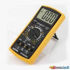 DT9205A LCD Digital Voltmeter Ammeter Ohm Test Meter Multimeter (DT-9205A)