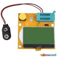 Component Tester Transistor Diode Capacitance ESR Meter Inductance