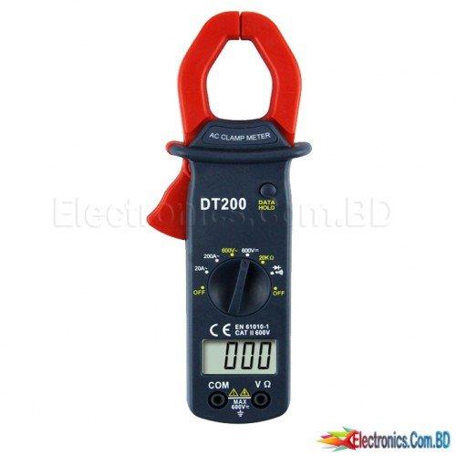 Digital Clamp Meter with Multi-Functions (DT200)