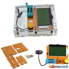 Component Tester Transistor Diode Capacitance ESR Meter With Case
