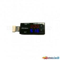 KEWEISI 2x USB Meter Voltmeter Ammeter Tester 2.0