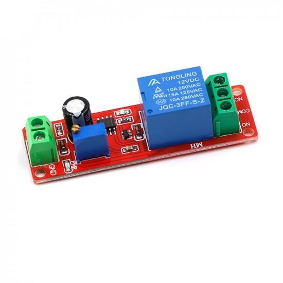 12V Delay Timer Switch Adjustable 0-10sec  Relay
