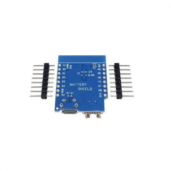 ACROBOTIC ESP8266 WeMos D1 Mini TP5410 Lithium Battery Charging And Boost Shield