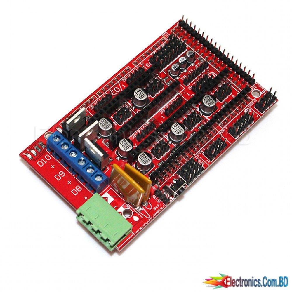 CNC 3D Printer Kit RAMPS 1 4 Controller Control Panel for Arduino Mega