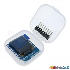"""MH-ET LIVE 0.66 inch OLED Display Module for WEMOS D1 MINI ESP32 Arduino Module AVR STM32 64x48 0.66 """"LCD Screen IIC I2C OLED"""